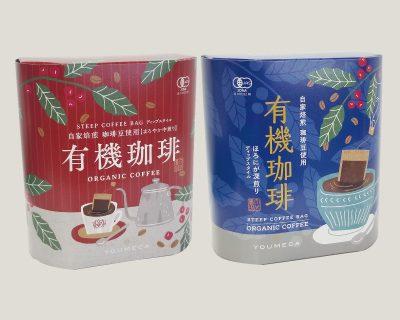 新商品「有機珈琲 コーヒーバッグ (5個入り)」 発売いたしました。